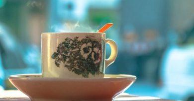 Taza de té oolong